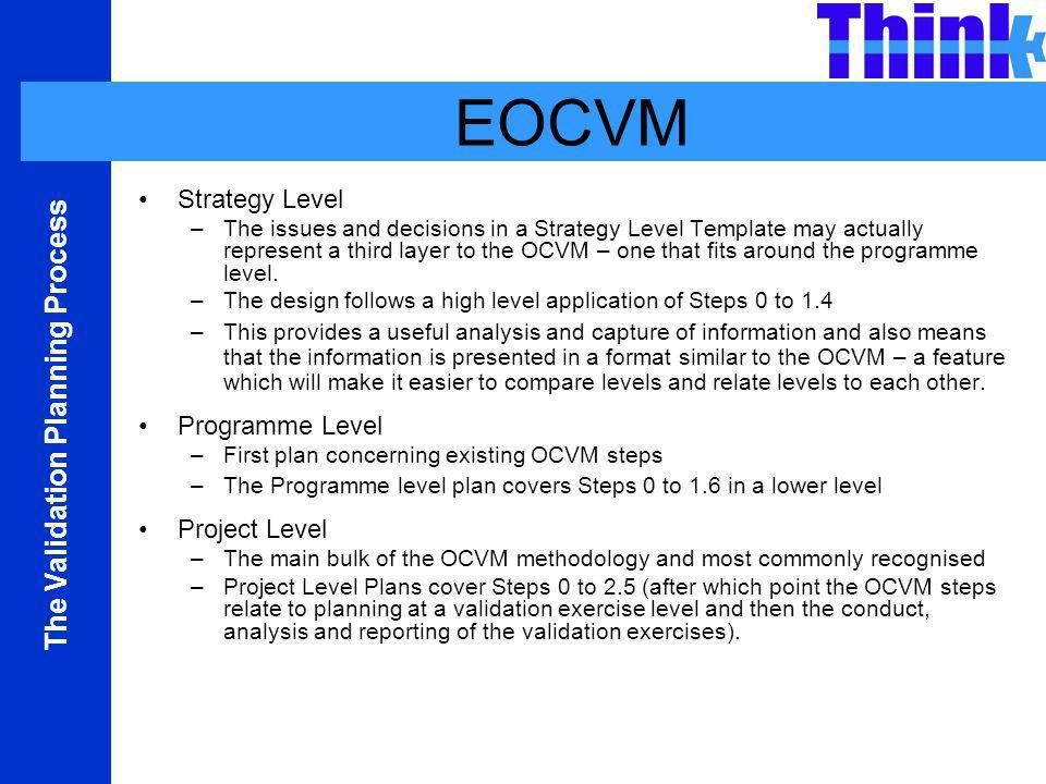 The EUROCONTROL Validation Planning Process - ppt video online download