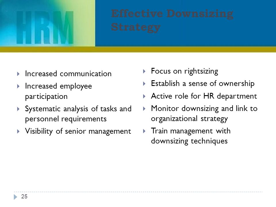 Downsizing and Restructuring - ppt video online download - effective employee management strategy