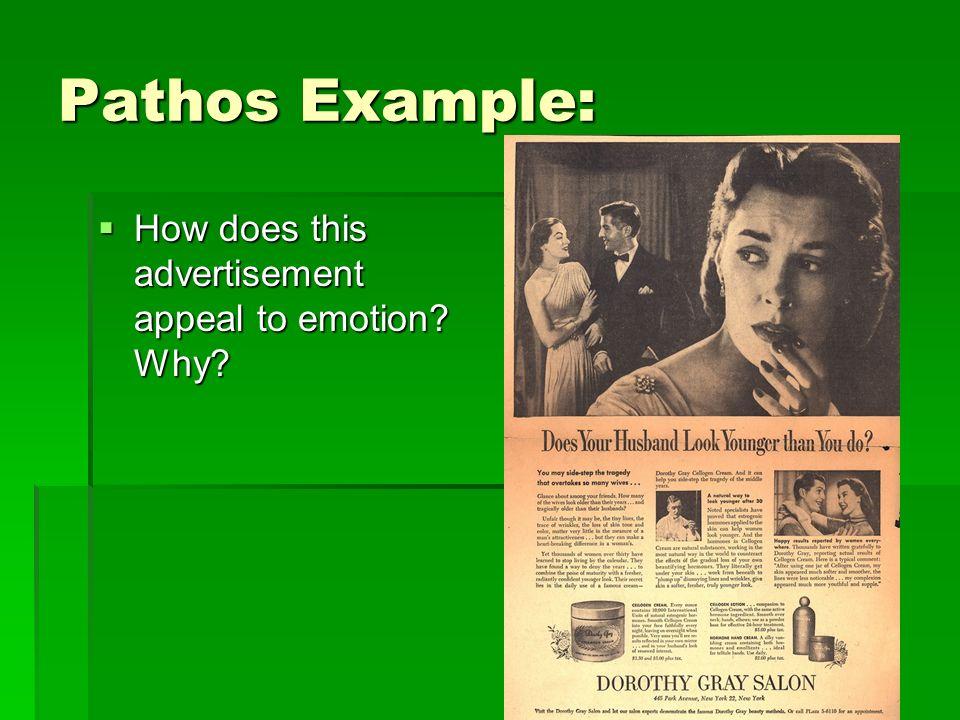 Ethos Pathos Logos Advertisements Examples \u003e\u003e HassheCom