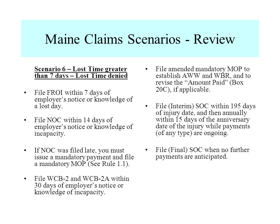 Workers Compensation Insurance Maine Workers' Compensation Board Ppt Download