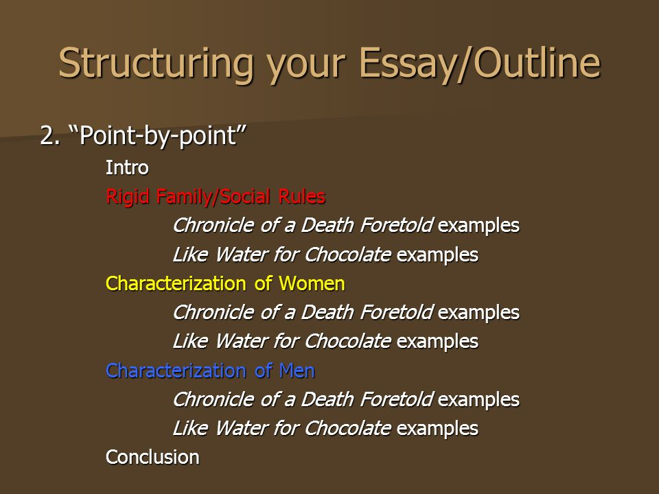 World literature essay chronicle of a death foretold Term paper - world literature essay examples
