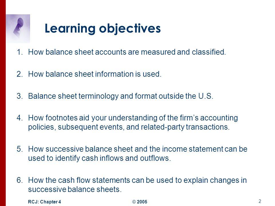 Balance Sheets Classified Balance Sheet Classified Balance Sheet - balance sheet classified format