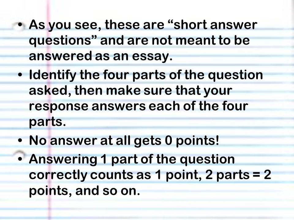 I\u0027m writing my first university paper What do I need to know? short - question and answer essay examples