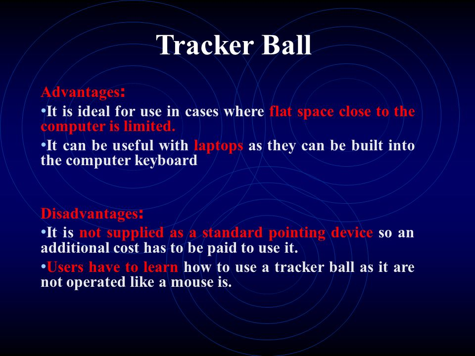 Input Devices - ppt video online download - mouse tracker