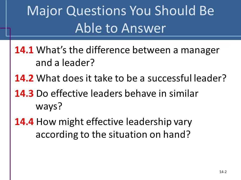 How To Answer Leadership Questions - Idealvistalisthow to answer the