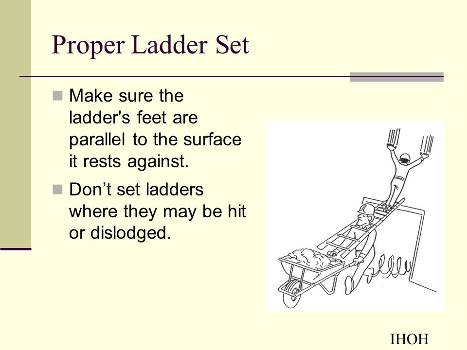Ladder Safety Awareness - ppt video online download - the ladders