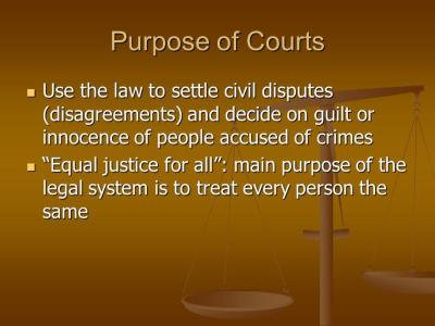 Judicial Branch Chapter ppt video online download