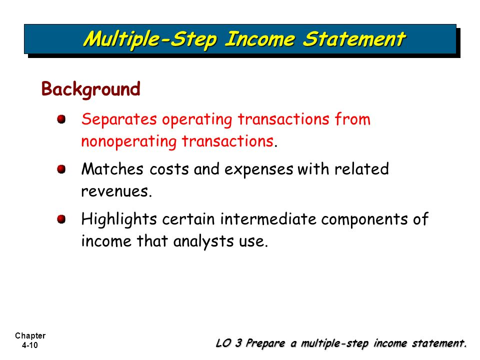 Income Statement and Related Information - ppt video online download - components of income statement