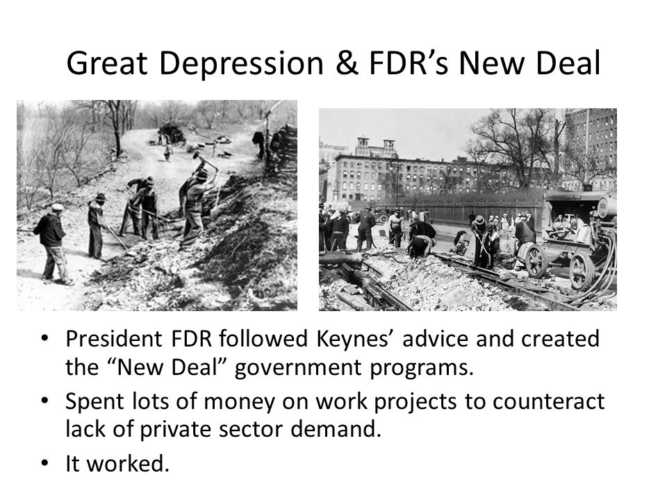 Essays about the government programs for great depression Custom