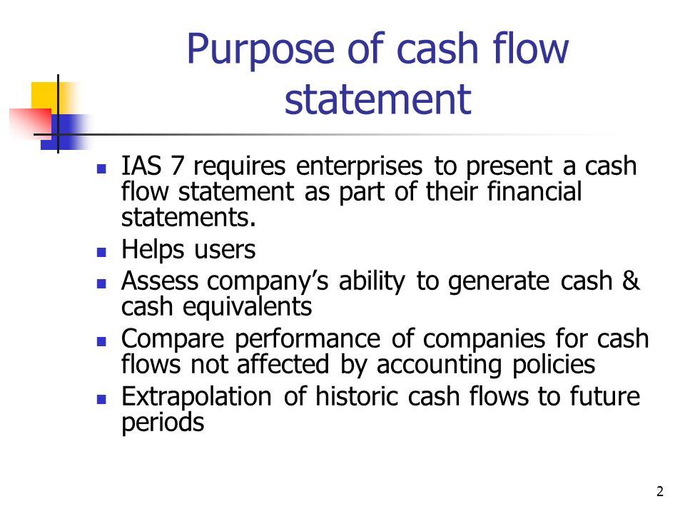 Cash Flow Statements Week ppt video online download - cash flow statement
