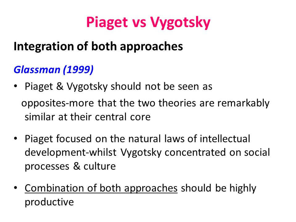 Piaget theory essays Research paper Sample - akmcleaningservices
