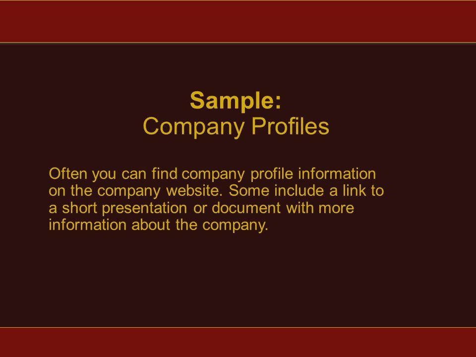 Company Profile - ppt video online download - company profile sample