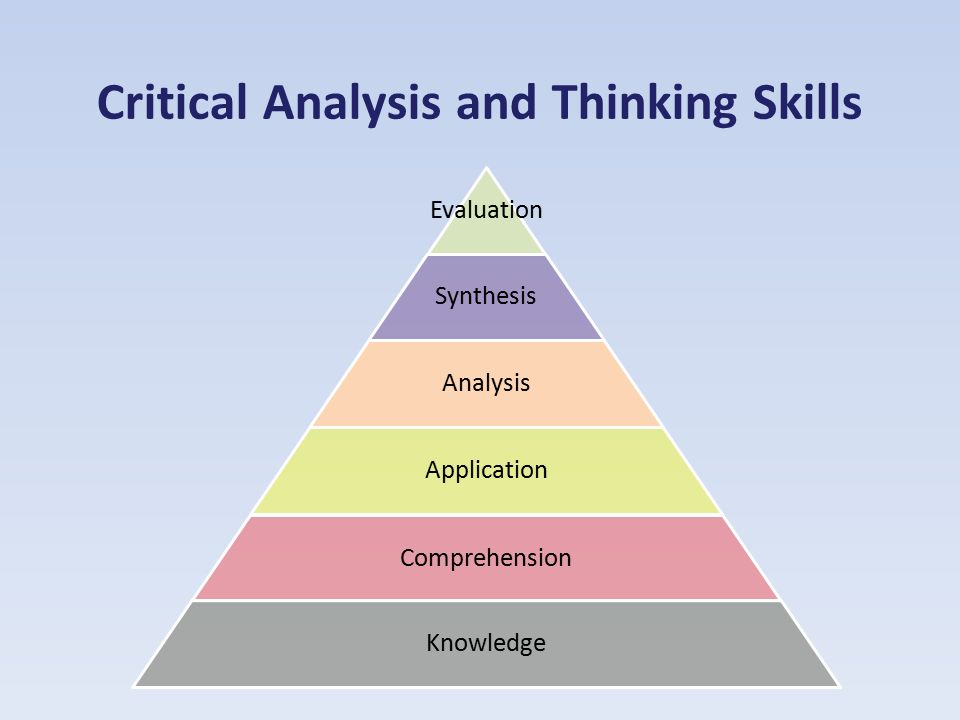 Critical Analysis and Thinking Skills - ppt download - critical analysis