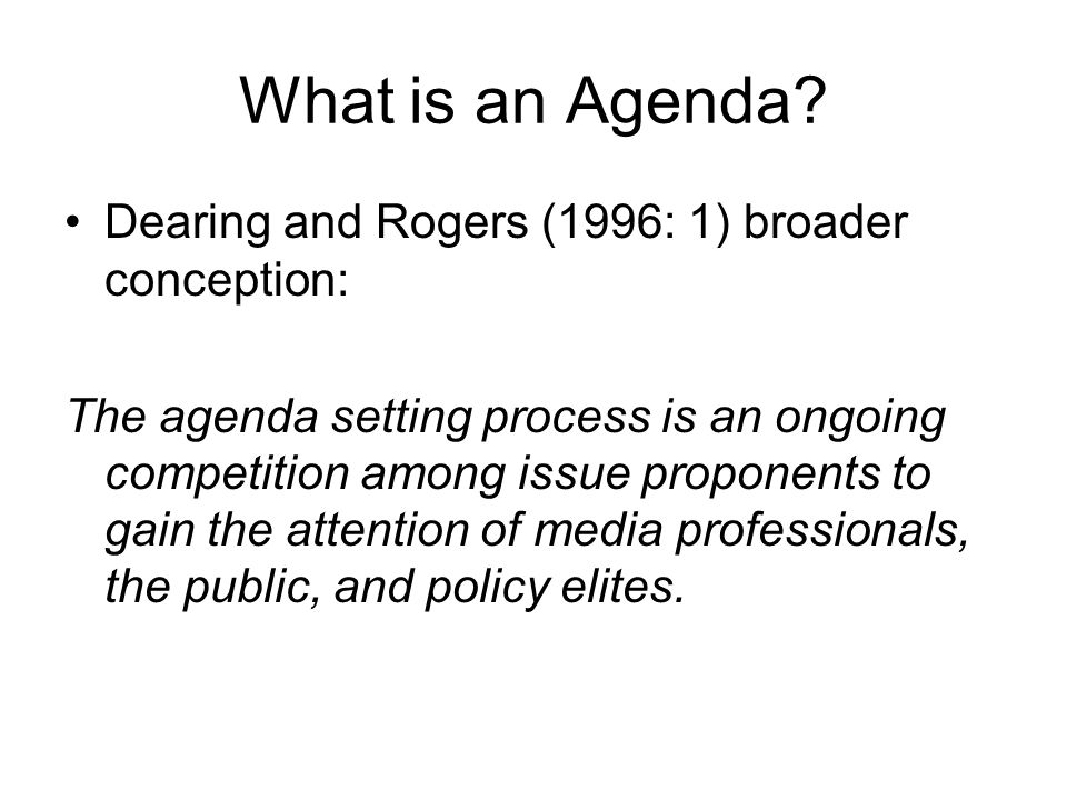 What Is An Agenda How To Write An Agenda For A Meeting
