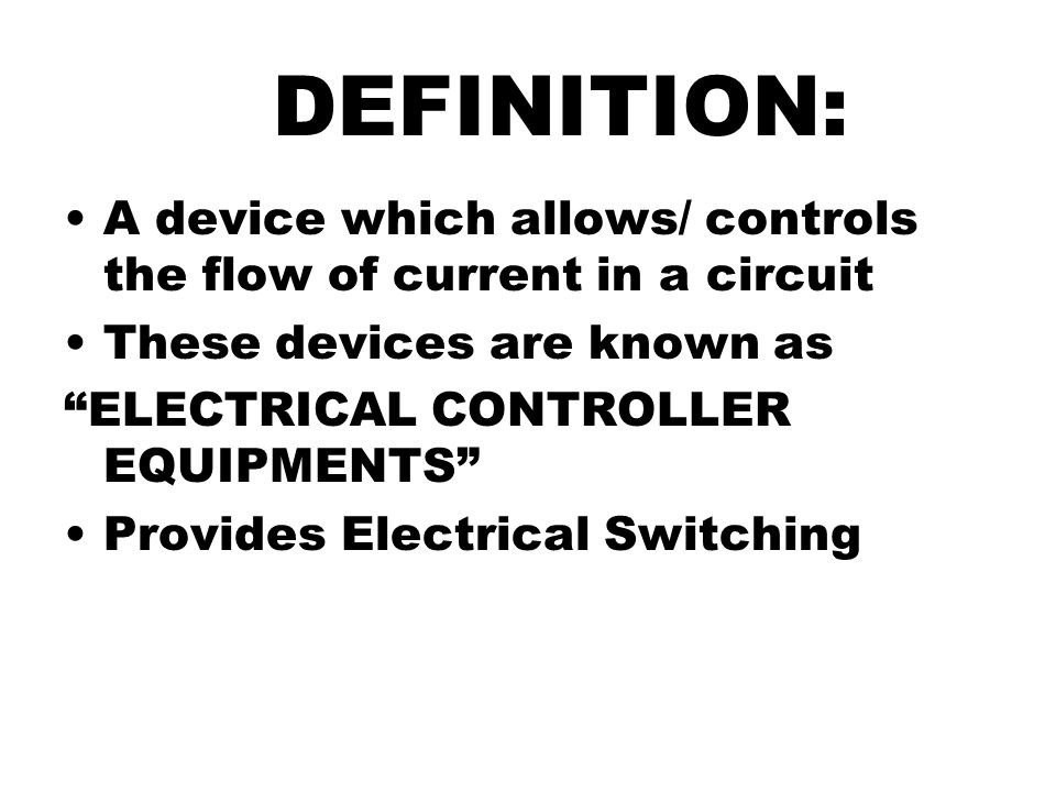 electrical relay definition