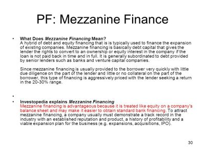 Project Finance A General Introduction1 - ppt video online download
