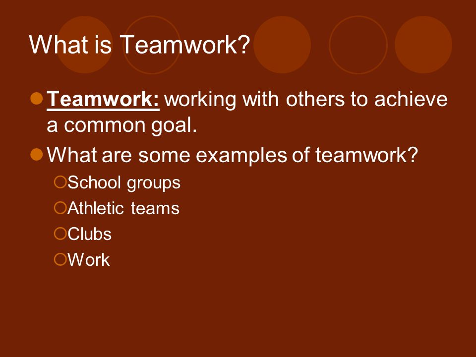 Teamwork and Leadership Skills - ppt video online download - an example of teamwork