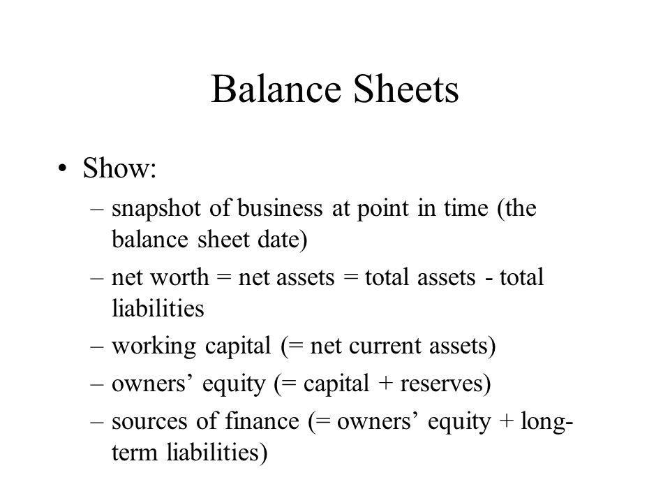 business net worth - Akbagreenw - assets liabilities net worth