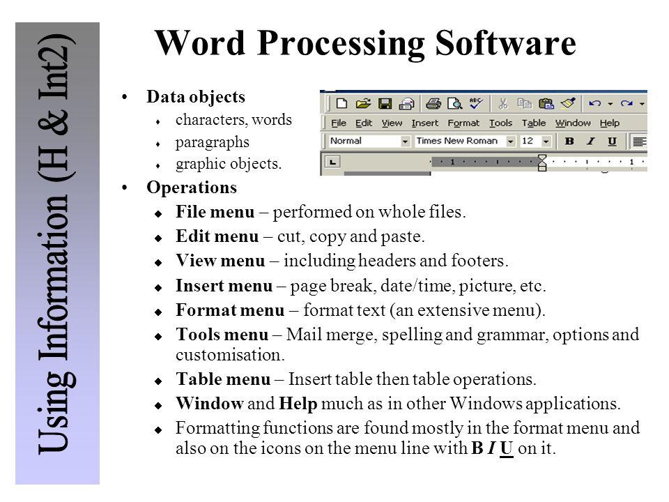 Word Processing Software Definition cvfreepro
