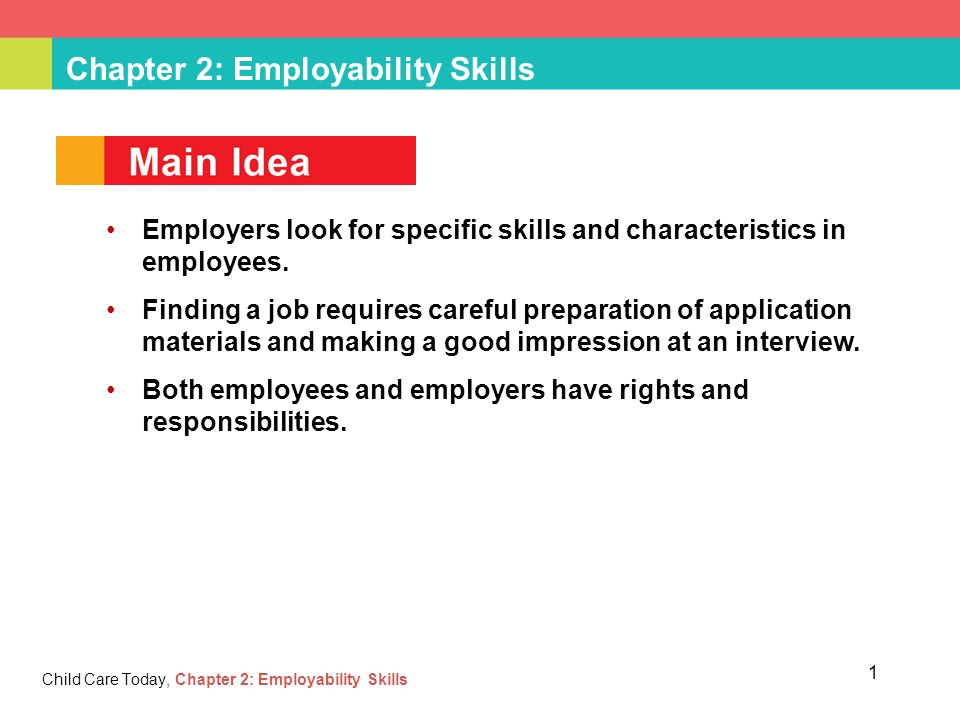 Chapter 2 Employability Skills - ppt download - what skills and qualities do employers look for
