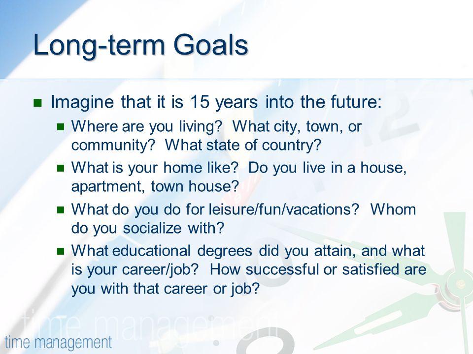Short Term Goal And Long Term Goal For It Professional - Koni
