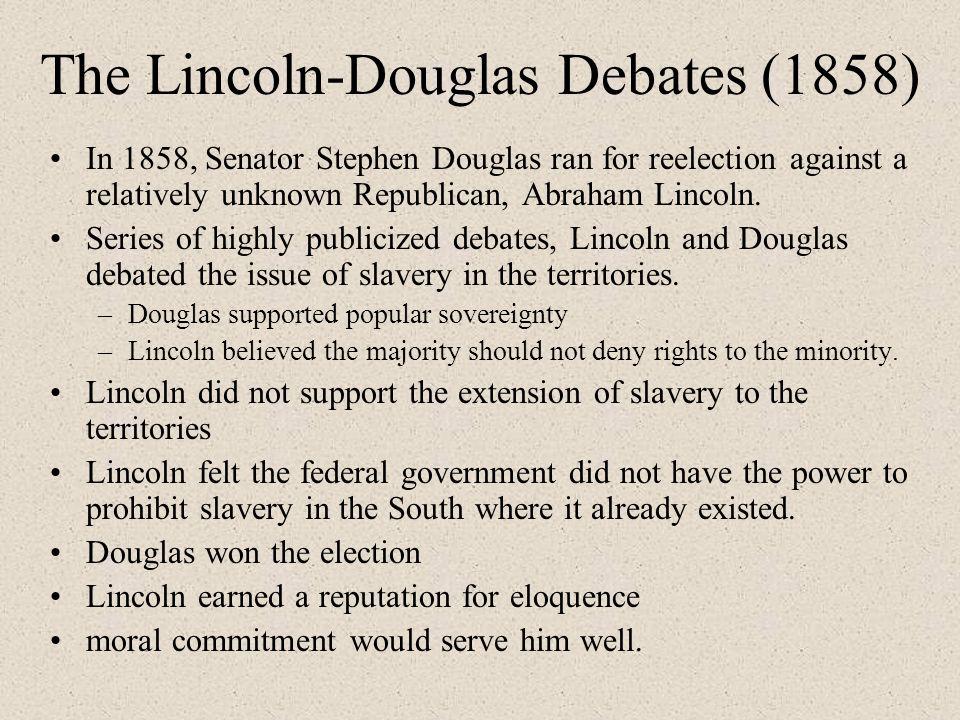 Lincoln Douglas Debates Slavery Essay