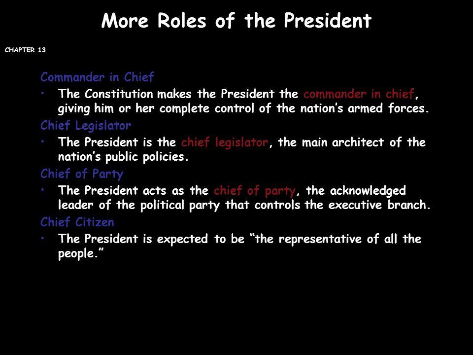 131 The President\u0027s Job Description - ppt video online download