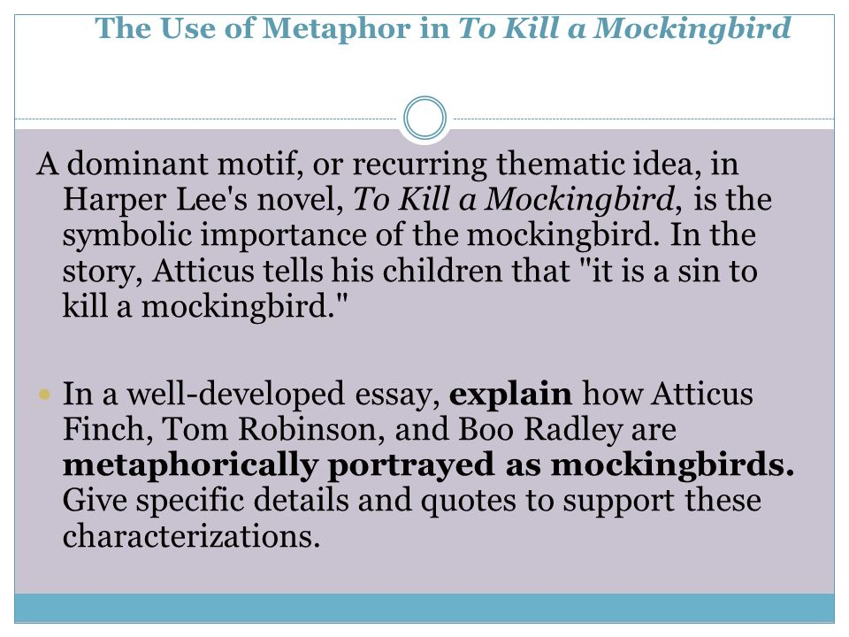 To kill a mockingbird analytical essay prompts \u2013 Thesis Pro