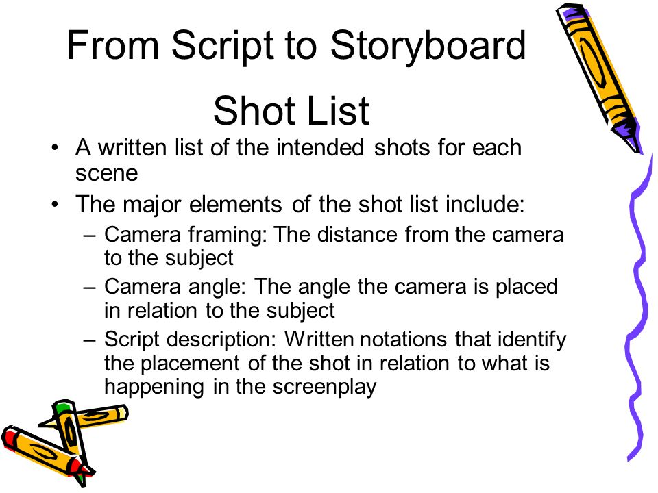 Letu0027s explore how to storyboard - ppt video online download - what is storyboard