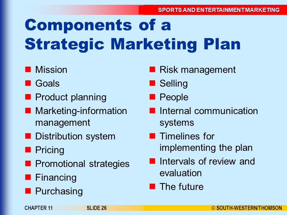 Strategic Marketing Plan Components and Benefits - inducedinfo - Components Marketing Plan
