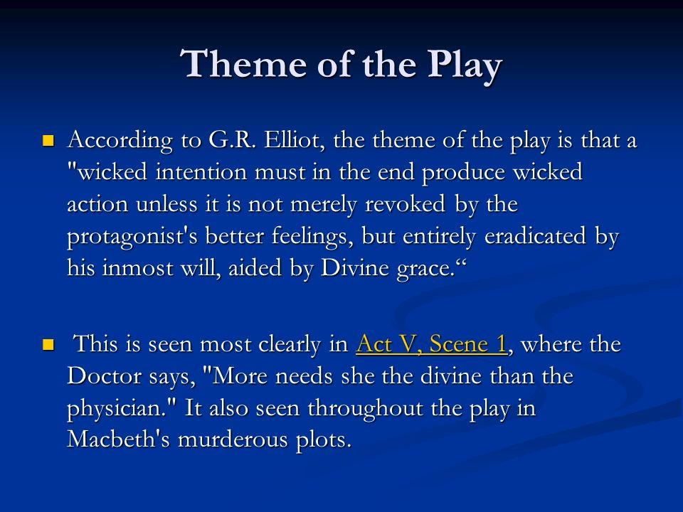 Macbeth Themes and Motifs - ppt video online download
