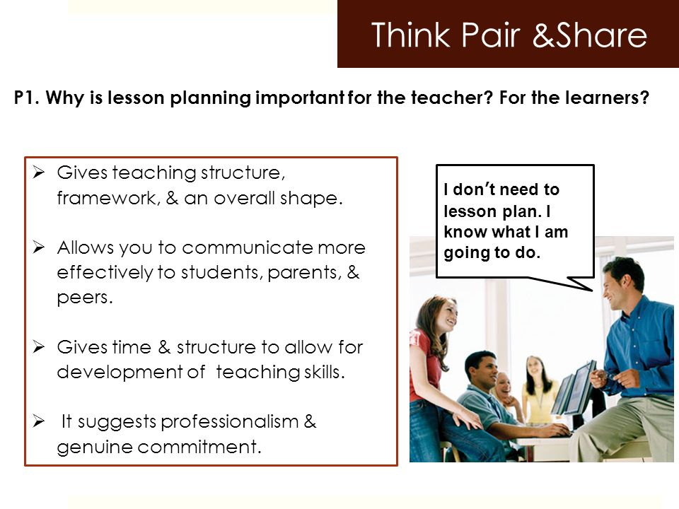 What Is A Lesson Plan And Why Is It Important Lessonplan Main Idea