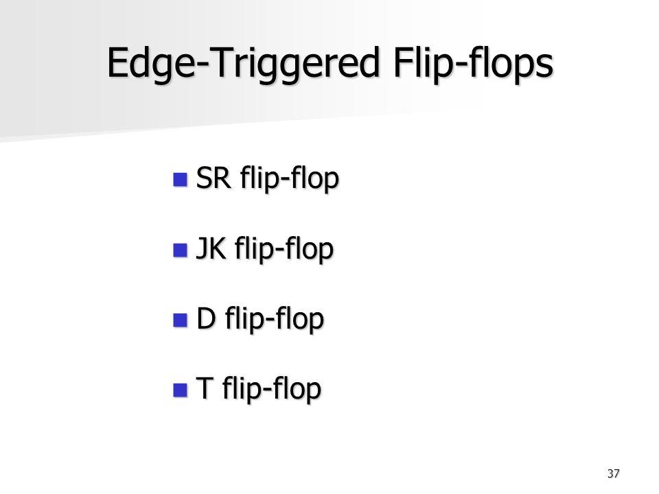 triggering of flip flops