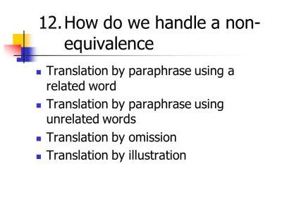 TRANSLATION THEORY Dr. Mashadi Said - ppt video online ...