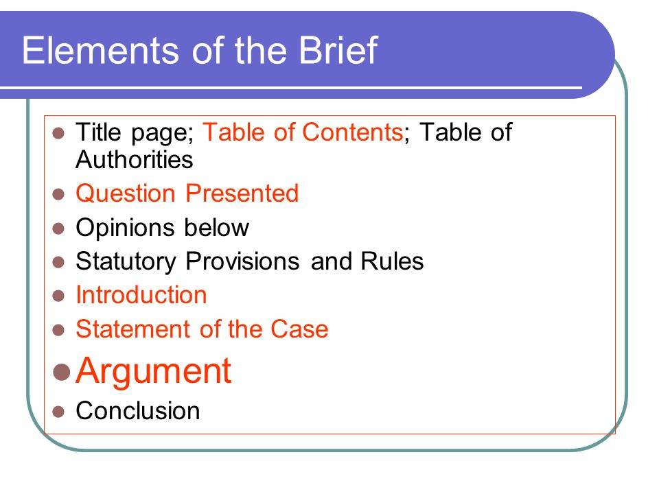 Purpose of the Internal Legal Memorandum - ppt video online download