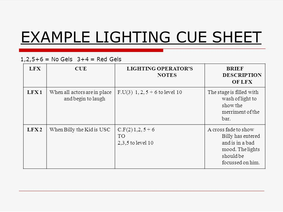 Lighting cue sheet democraciaejustica stage lighting cue sheet template spreadsheet stage saveenlarge maxwellsz