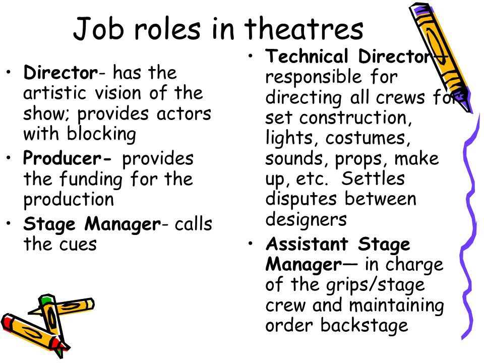 stage manager job description your day to day responsibilities
