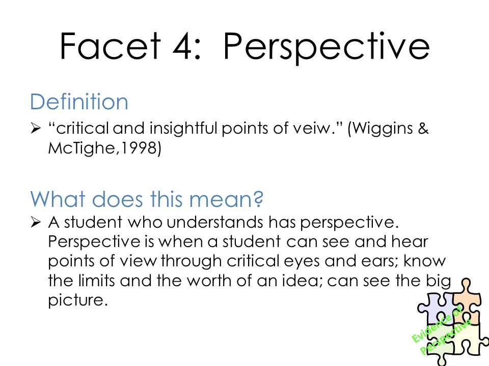 what does facet mean - Selol-ink
