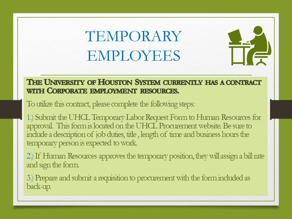 Temporary Employee Contract Template - Costumepartyrun