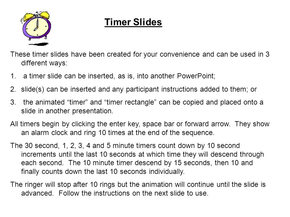 3 minute timer for powerpoint - Towerssconstruction
