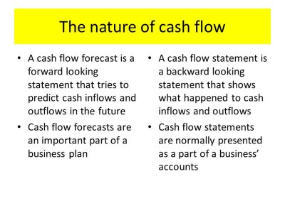 Using Cash Flow Forecasting - ppt video online download