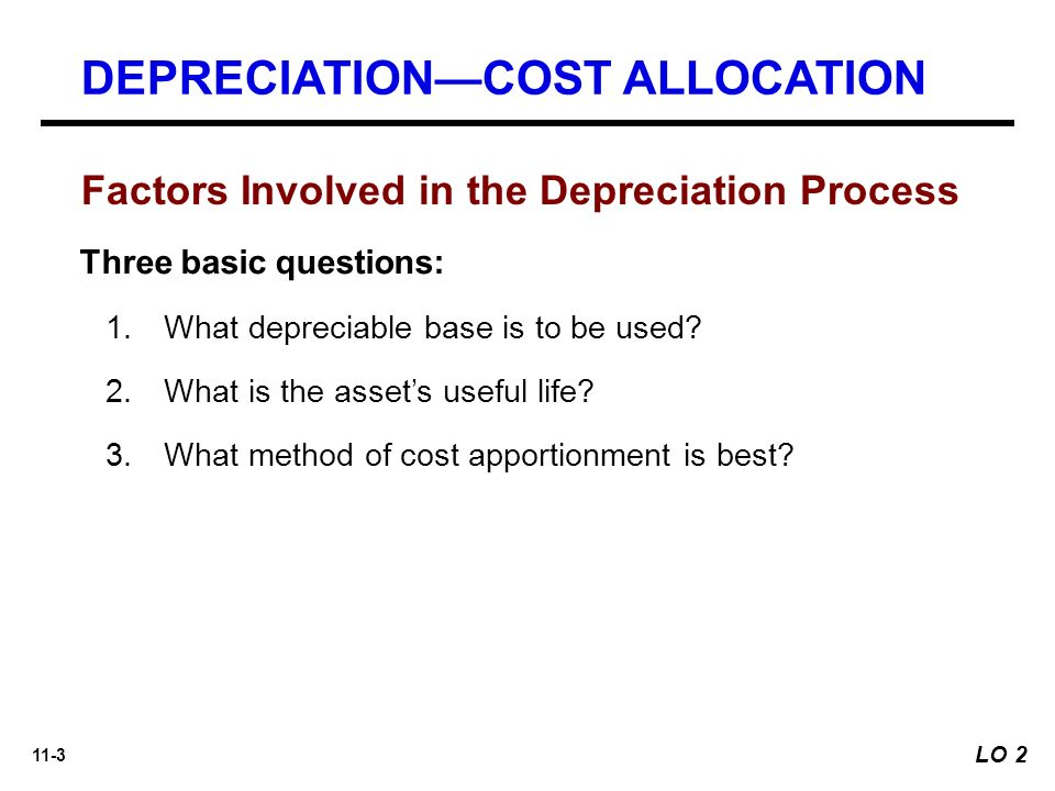 Chapter 11 \u2013 Depreciation and Impairments - ppt video online download - three methods of depreciation