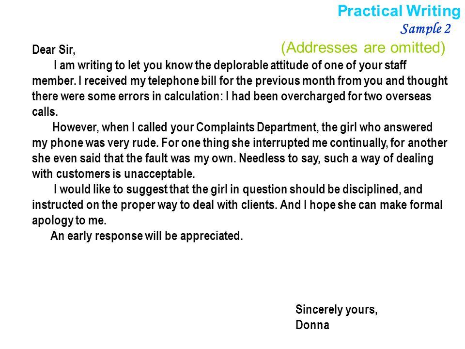 Complaint Letters Business Letter Best Of Formal Business Complaint