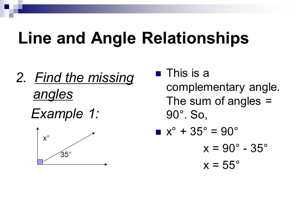 Ch 10 Geometry Line and Angle Relationships - ppt video online