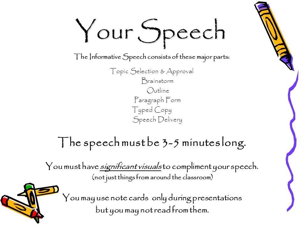 Informative Speech - ppt download - informative speech