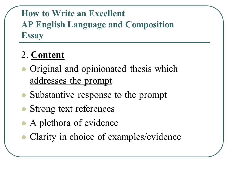 how to write a composition essay how to write an excellent ap