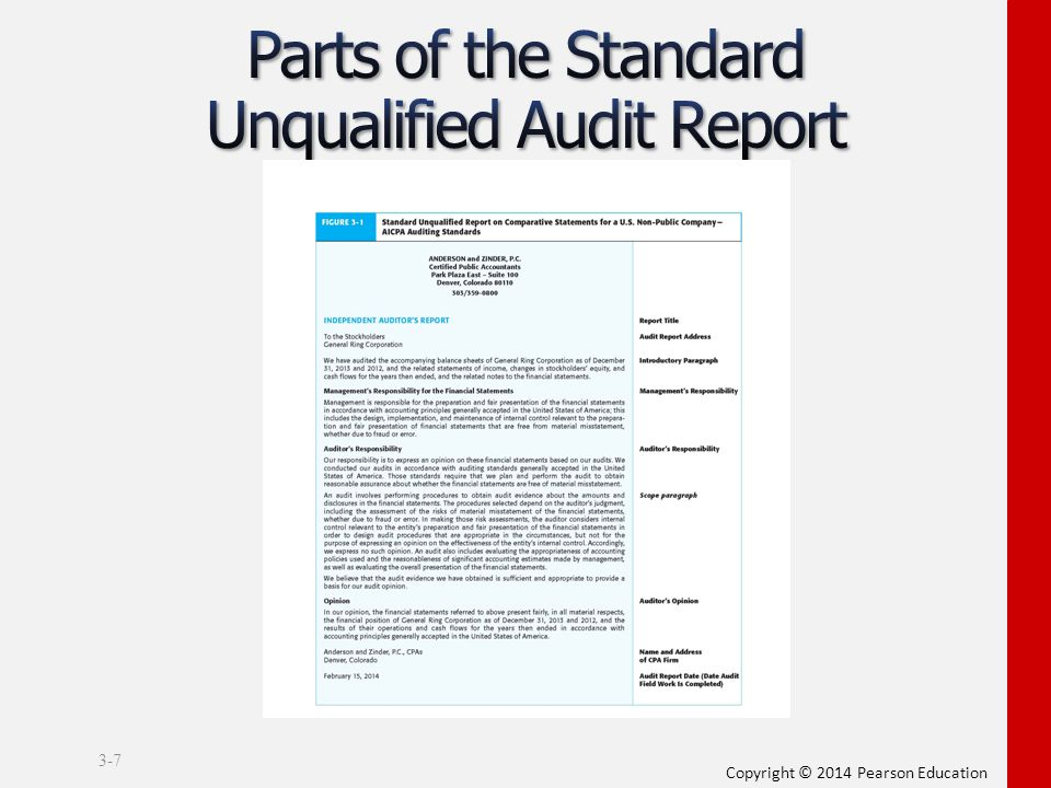 Chapter 3 Audit Reports ppt video online download - audit report