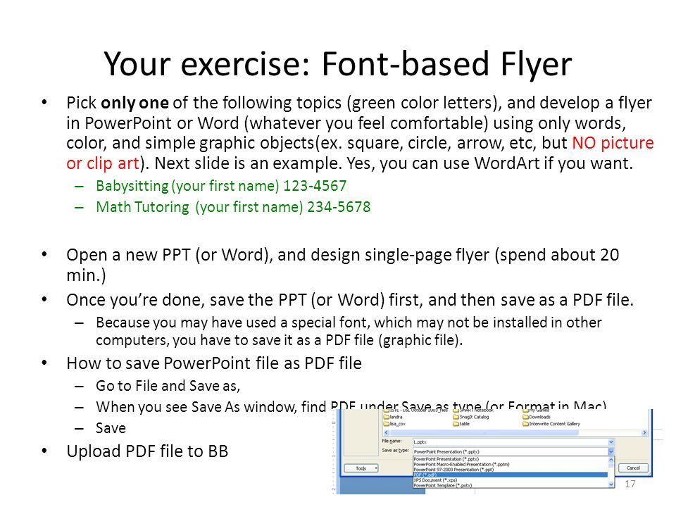 developing flyers in ppt - Mersnproforum