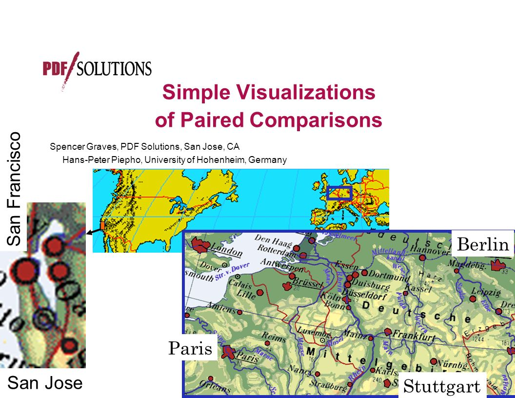Bretz Stuttgart Simple Visualizations Of Paired Comparisons - Ppt Video Online Download