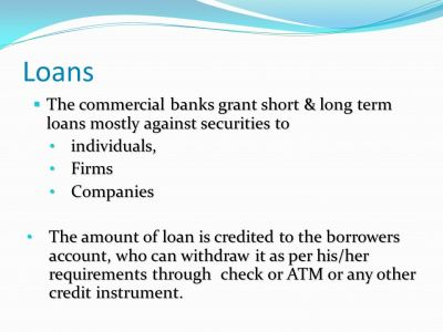 Chapter No 3 Commercial Bank. Chapter No 3 Commercial Bank. - ppt video online download